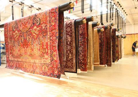 بهترین قالیشویی در زعفرانیه